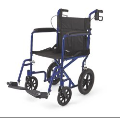 Medline transport wheelchair, transport wheelchair, companion wheelchair